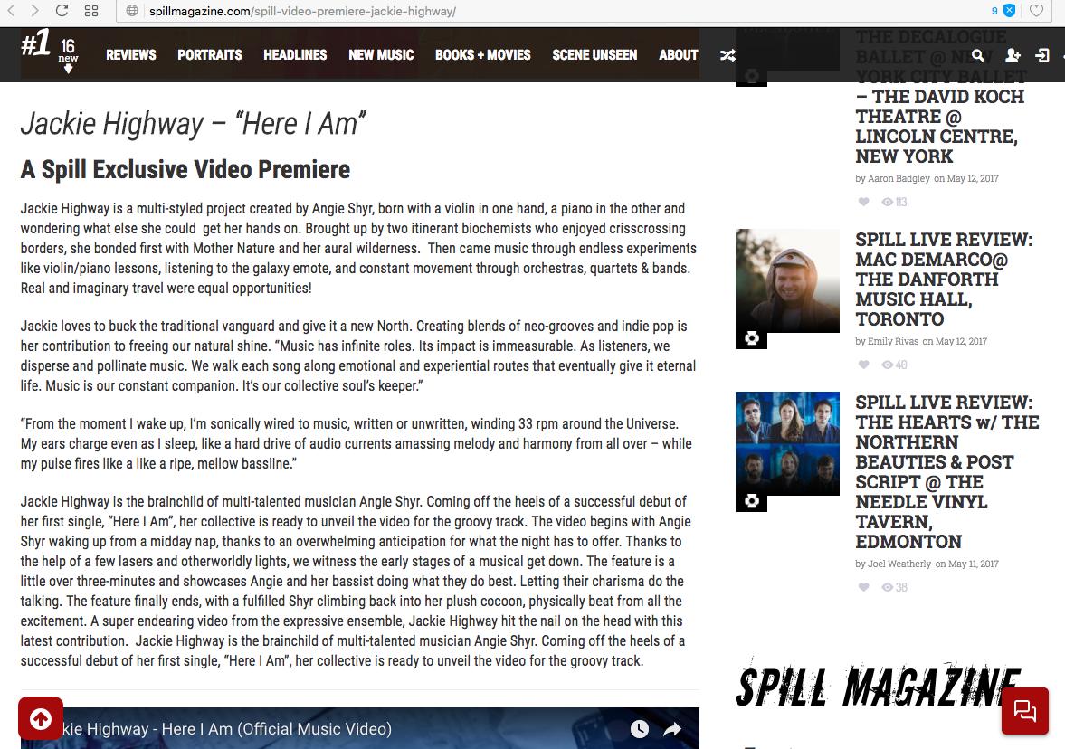 SPILL MAG screenshot 4